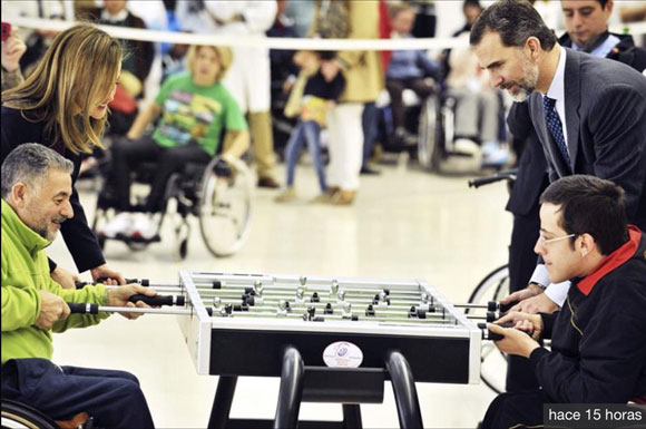 King Felipe VI and SAM