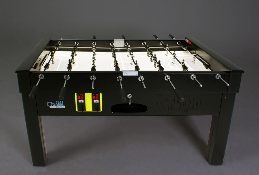 Tecno Flame - Design and light effects in the best soccer table in the World.