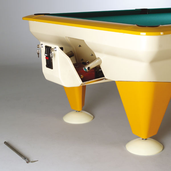 Tempo - State of the art pool table to endure weather conditions.