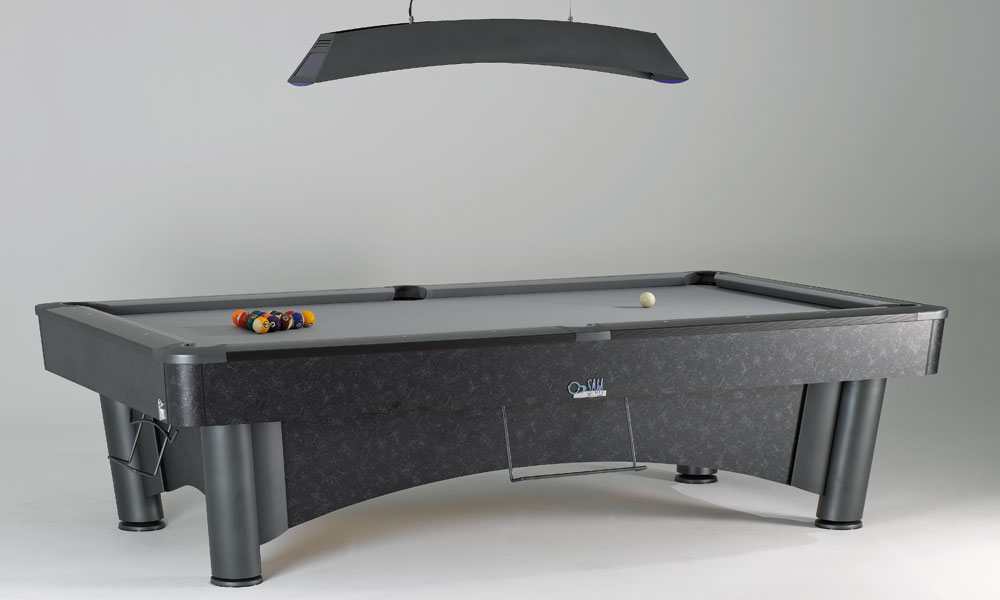 K.Steel 2 - Here is the ultimate professional american pool table.