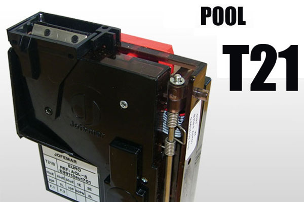 T21 Coin Acceptor Pool