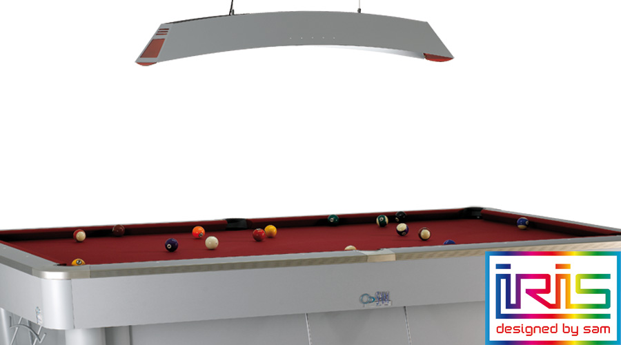 Iris Lamp   Light Up Your Pool Table And Donu0027t Lose Any Detail.