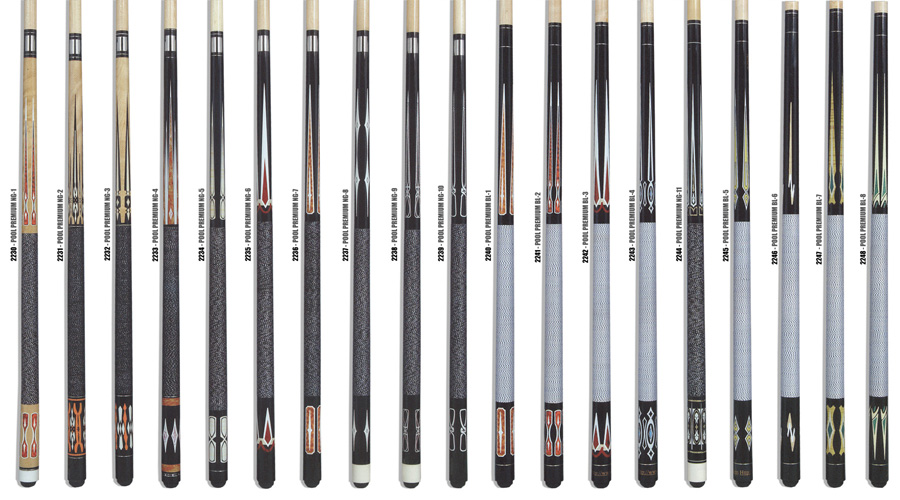 Premium Pool - Exclusive design in pool cues.