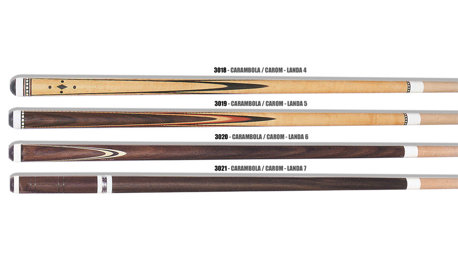 Landa Carom - We mark the difference in two pieces carom cues.