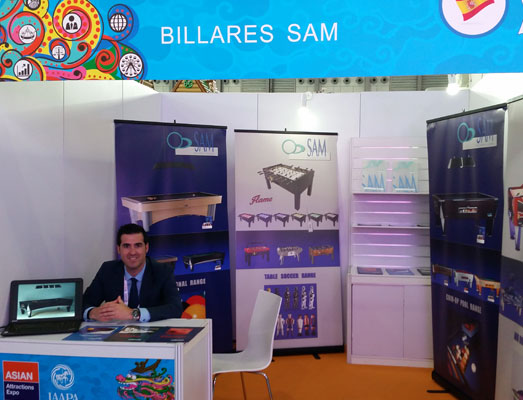 SAM en Asian Attrac. Expo 2016