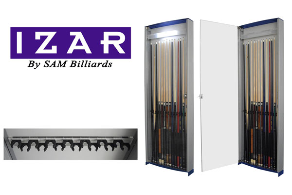 Izar cue rack | Billares SAM