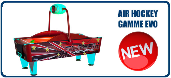 Gamme Evo de Air Hockey de SAM