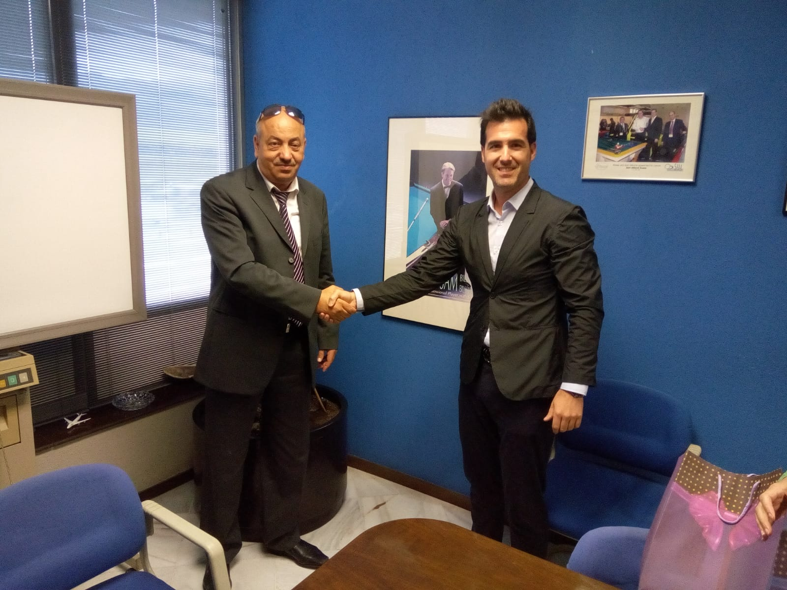 Mr. Ahmed (Algeria) visits SAM