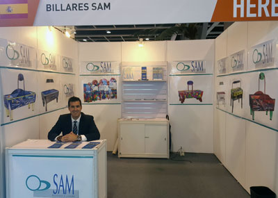 SAM en Asian Attraction Expo