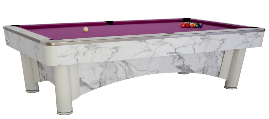 Billard De Pool Americain Professsionnel K Steel 2 Sam