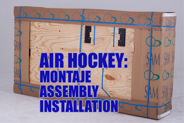 Montaje AIR HOCKEY
