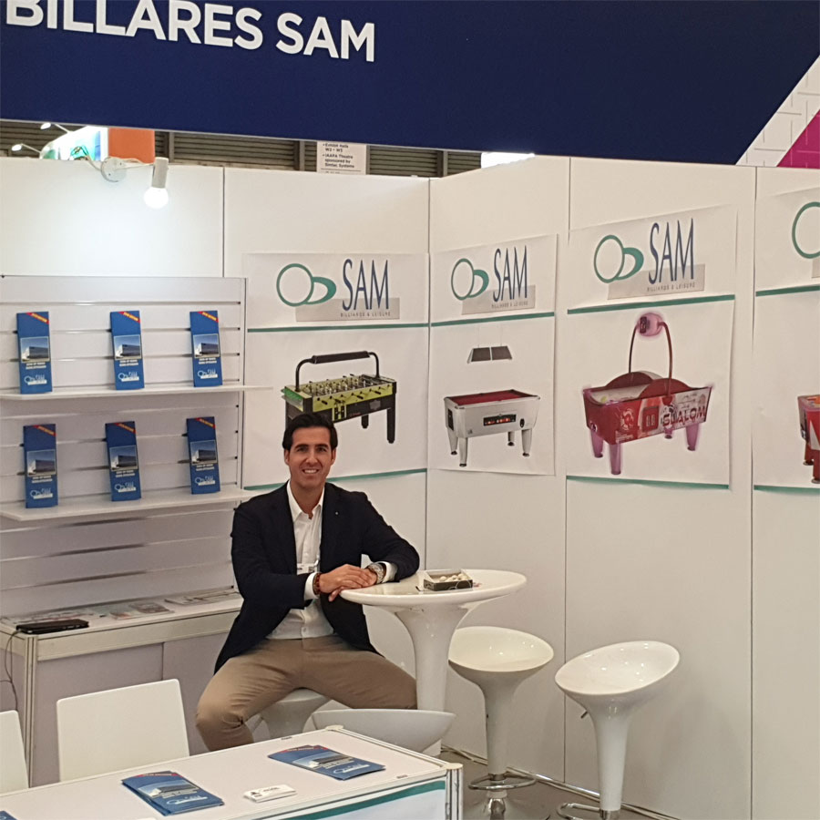 SAM at Expo Asia 2019