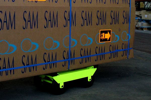 Trolley Remi - Exclusive transport system for SAM tables.