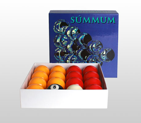 Summum Pool - Exclusive from SAM for your american pool table.